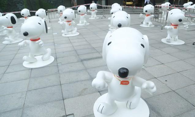 《 Peanuts 》 花生漫画 65 周年 Snoopy