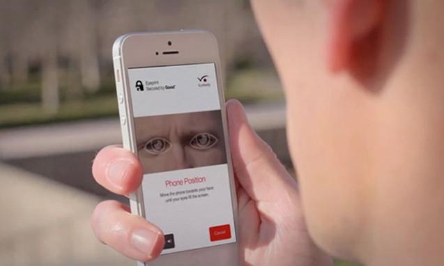 EyeVerify 眼球识别认证登陆 APP