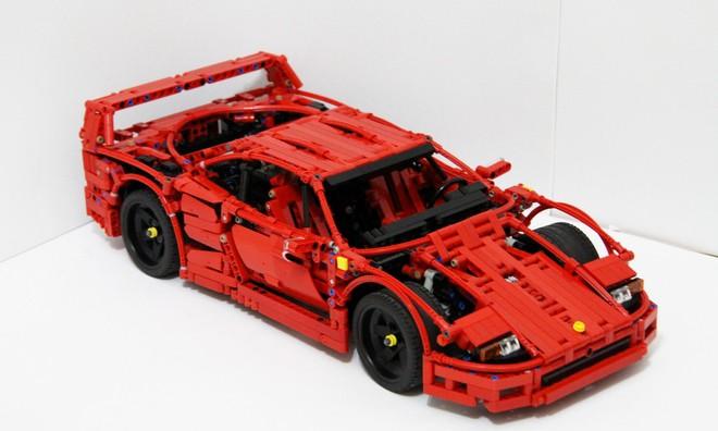国外发烧友于 LEGO ideas 上分享 Ferrari F40 超精细模型