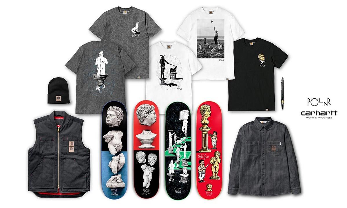 Carhartt WIP x Polar Skate Co. 联名系列一览