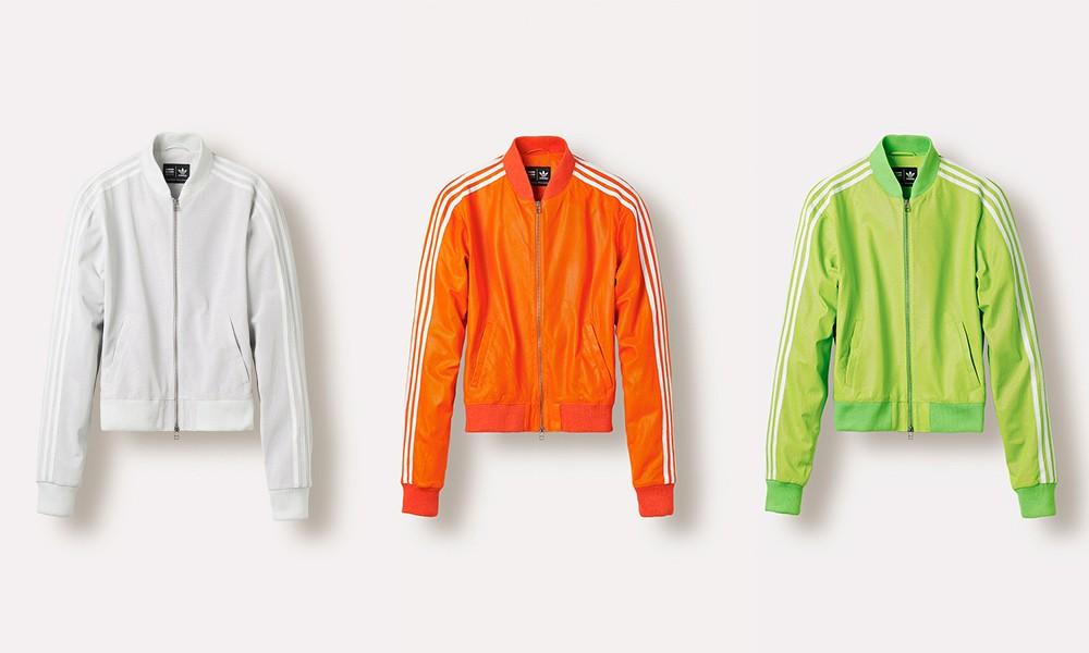 Pharrell Williams x adidas Originals 2014 秋冬联名系列新款夹克