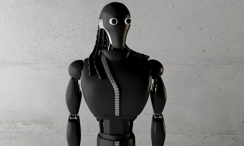 Simeon Georgiev 概念呈现 Rick Owens 机器人
