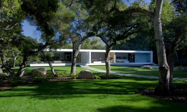 """建筑设计师 Steve Hermann 打造 """" The Glass Pavilion """" 豪华寓所"""