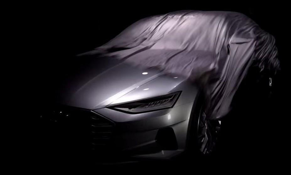 新一代旗舰车型?疑似 Audi A9 预告发布