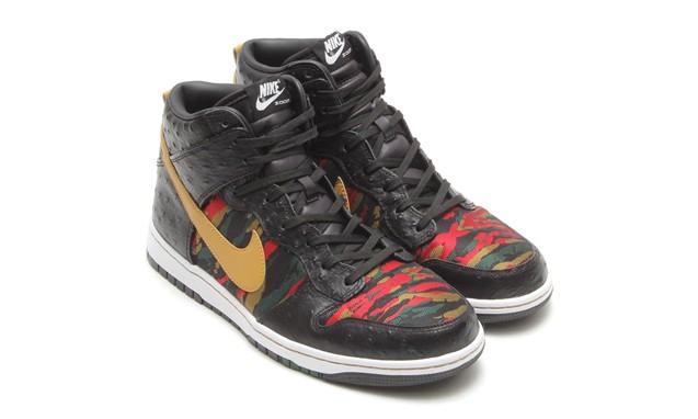 豪华鸵鸟皮质感,Nike Dunk CMFT PRM QS 鞋款