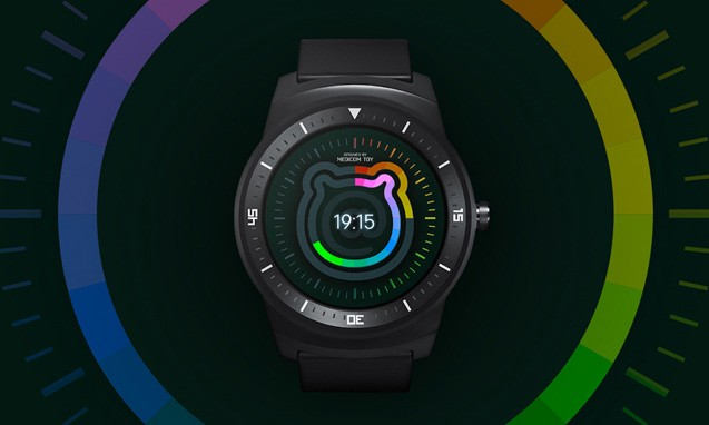 MEDICOM TOY 推出 Android 系统的 BE@RBRICK WATCH FACE
