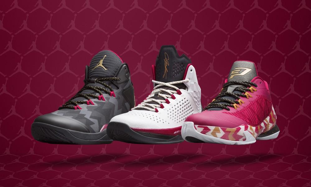 "圣诞专属,Jordan Brand 发布 ""Christmas Collection"" 篮球鞋系列"