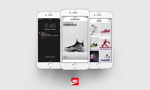 "Nike 推出官方手机 App "" SNKRS """