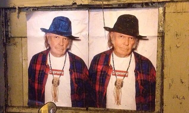 Supreme 2015 春夏季 Neil Young 主题海报释出