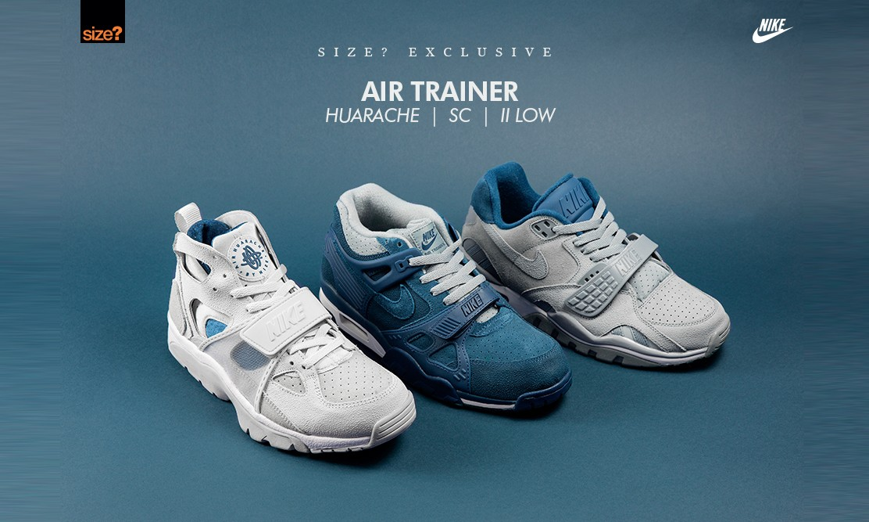 质朴新味,Size? 独占 Nike Air Trainer 系列释出