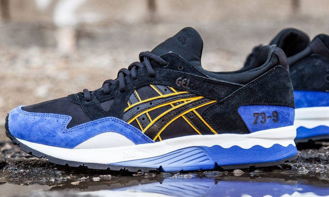 """为纪念金州勇士队打破记录,BAIT 与  ASICS 联手推出 GEL-Lyte V """"73-9"""" 联名配色鞋款"""