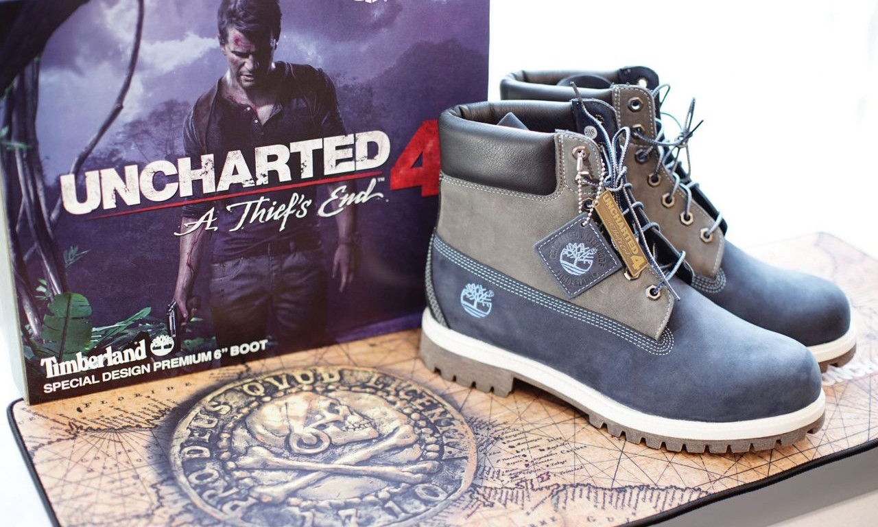PlayStation® 携手 Timberland 推出 UNCHARTED 4 联乘鞋款