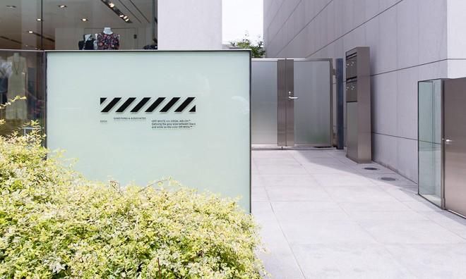 "全球第二家路面门店,""SOMETHING & ASSOCIATES"" co OFF-WHITE TOKYO 开幕"