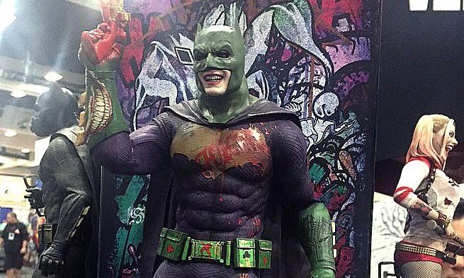 到底是小丑还是蝙蝠侠?
