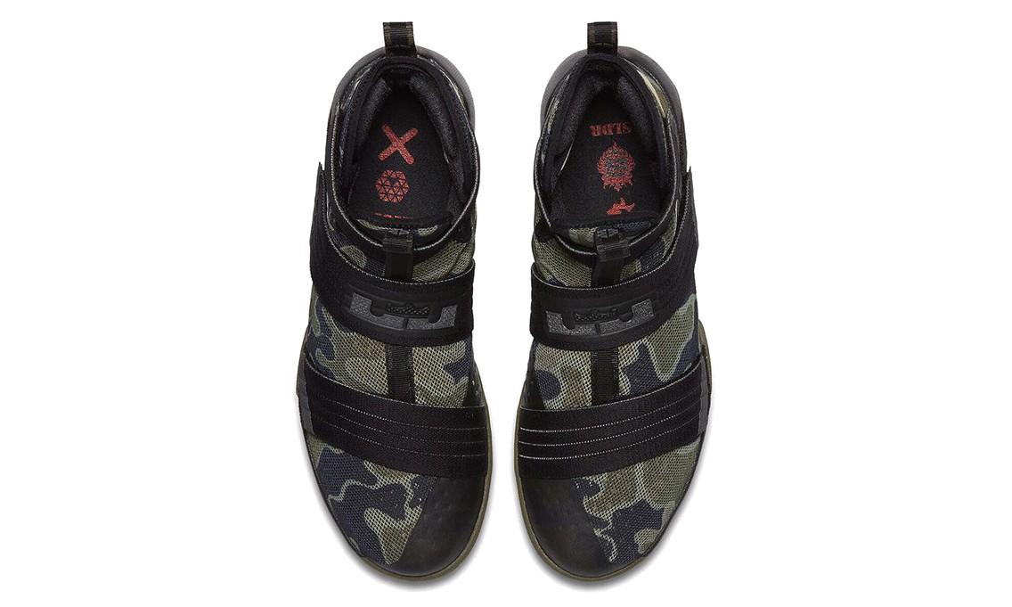 "Nike LeBron Soldier 10 ""Camo"" 配色将于下周发布"