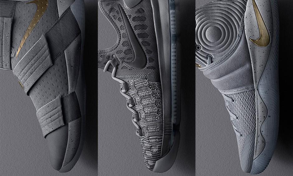 """为庆祝新赛季拉开帷幕,Nike 为旗下热门战靴带来全新 """"Battle Grey"""" 配色"""