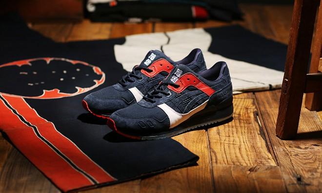 江户时代的消防服,ASICS Tiger x sneakerwolf GEL-LYTE III 曝光