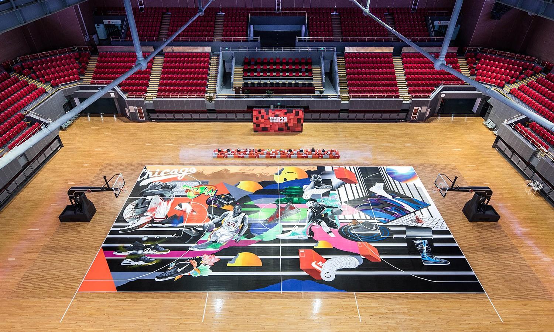 热血 12 魂,中国艺术家大型球场涂鸦创作回顾