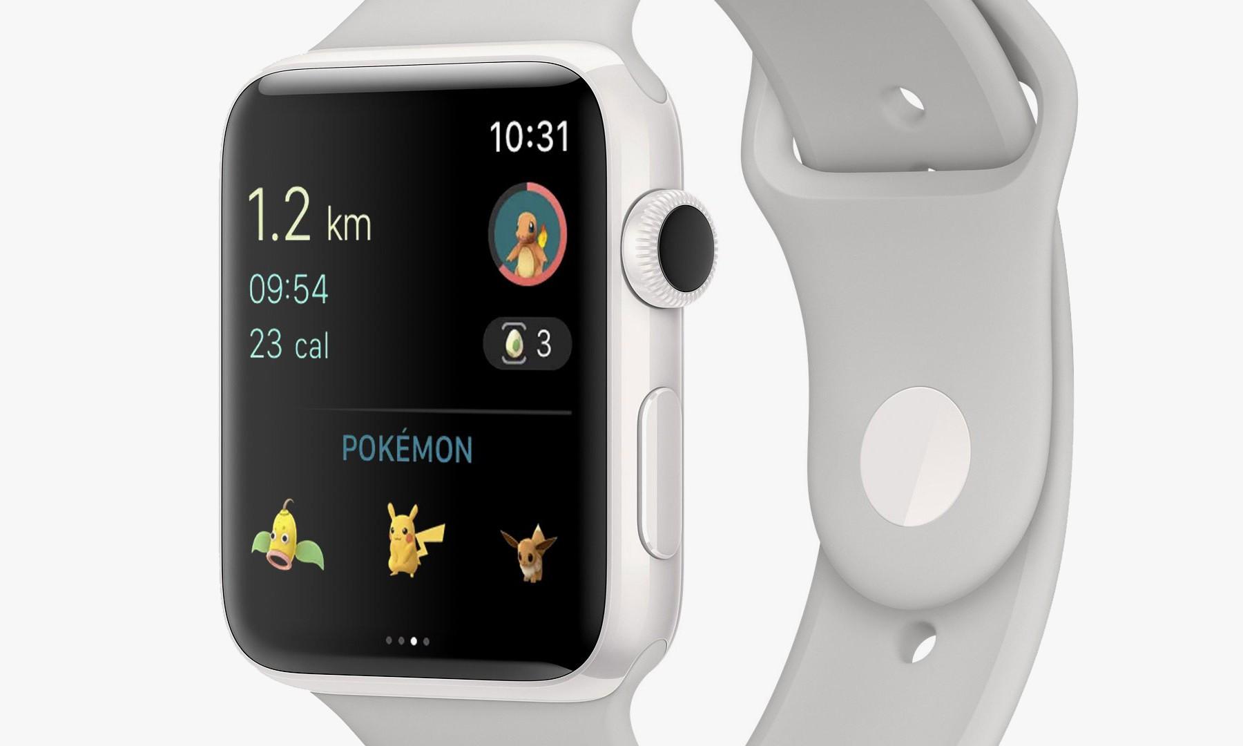 《Pokémon GO》现已登陆 Apple Watch