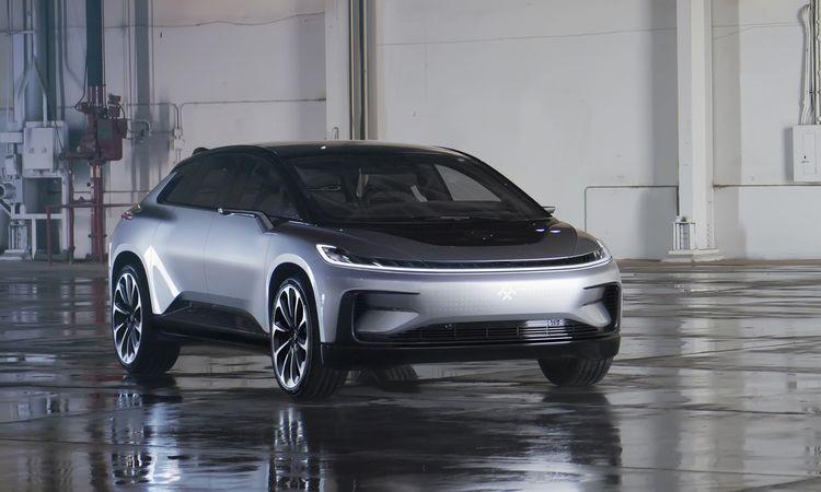 Faraday Future 量产型电动车 FF91 发布