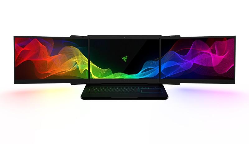 专为玩家打造,雷蛇三屏笔记本电脑面世