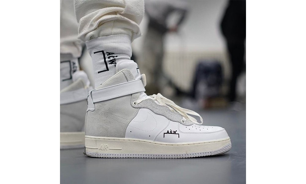 A-COLD-WALL* x NikeLab Air Force 1 近照曝光