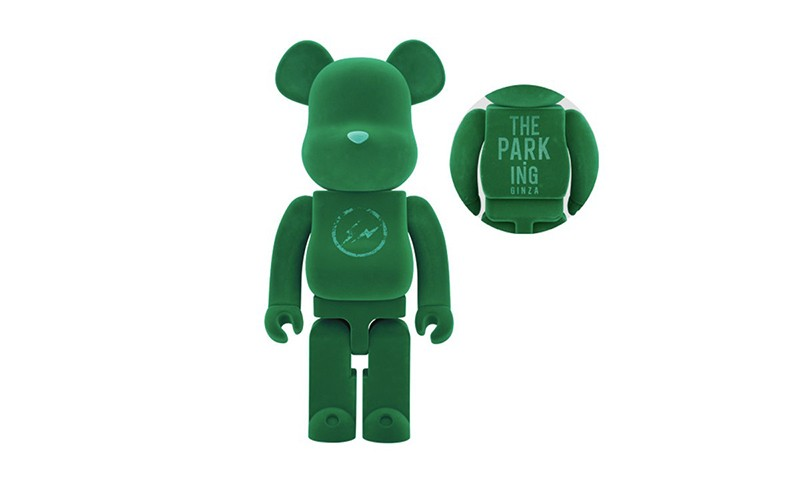 THE PARK · ING GINZA x MEDICOM TOY 联乘 BE@RBRICK 玩偶正式发布