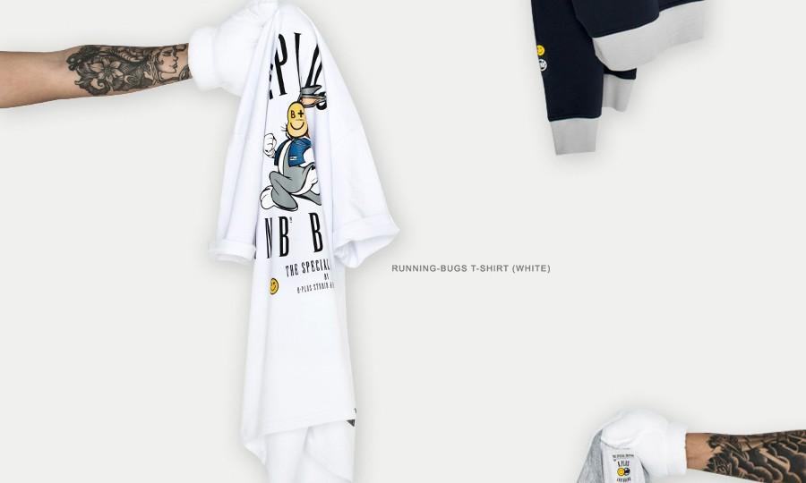 "B.PLUS STUDIO x ANB BRAND 新年联名 ""I'M NOT BUGS"" 系列登场"