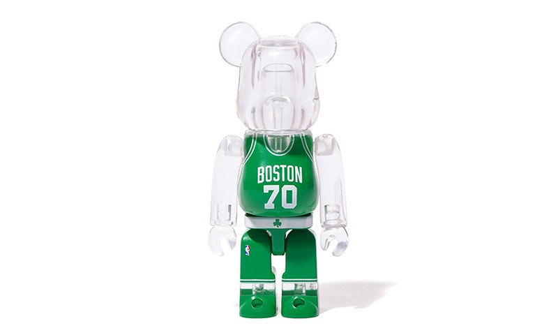 MEDICOM TOY x NBA x MiLK Cargo 打造限定 BE@RBRICK 玩偶
