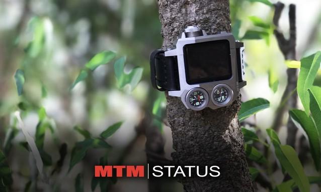 MTM Status™ 为 Apple Watch 打造军事风格保护壳