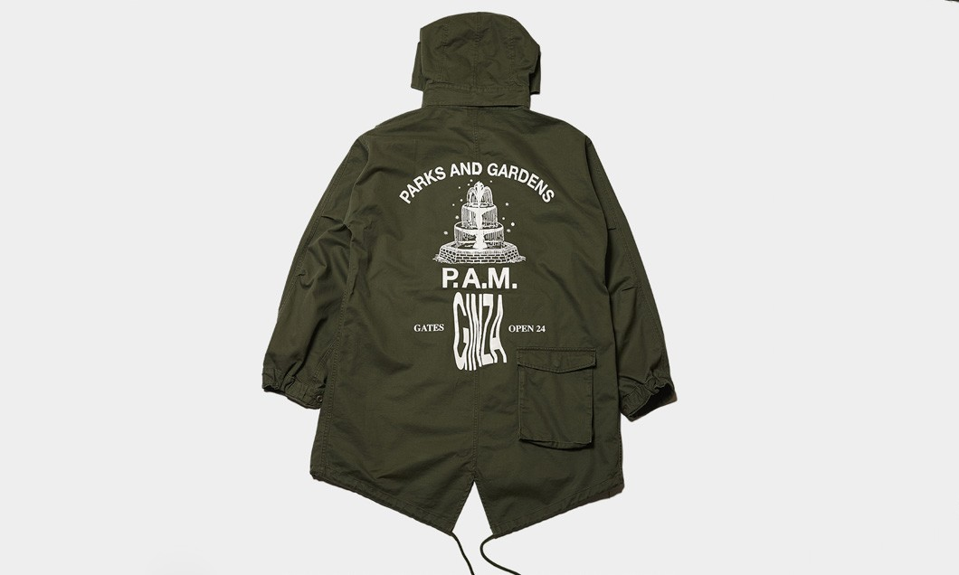"P.A.M. 将展开 ""PARKS AND GARDEN"" 期间限定店"