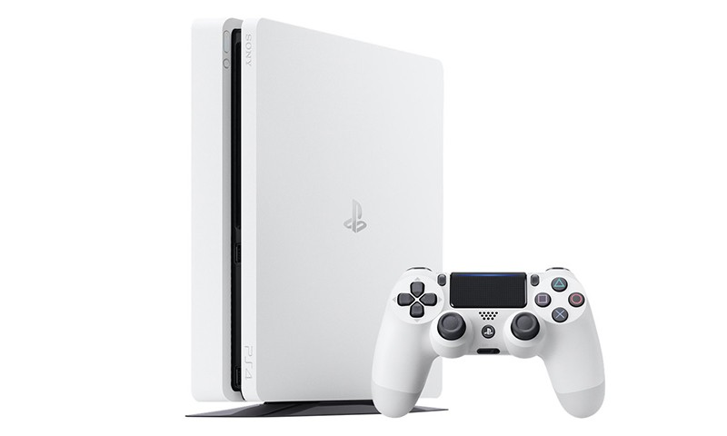 SONY 即将发布纯白版 PlayStation® 4 Slim