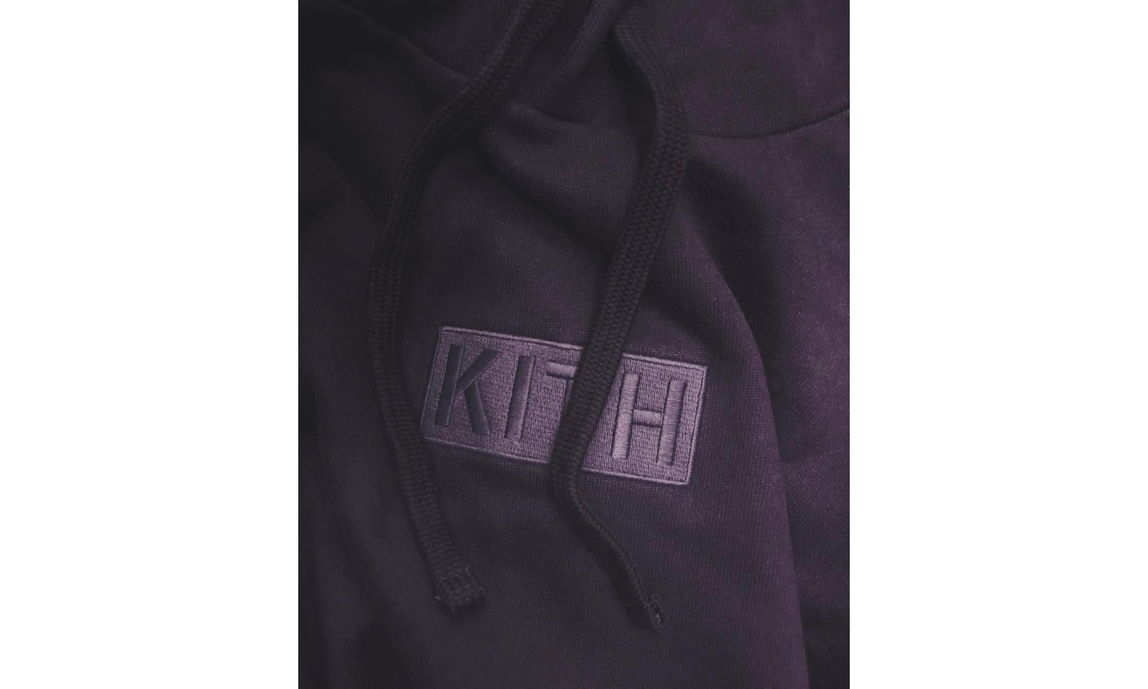 下一件必入单品?Ronnie Fieg 曝光 KITH 刺绣 Box Logo 卫衣