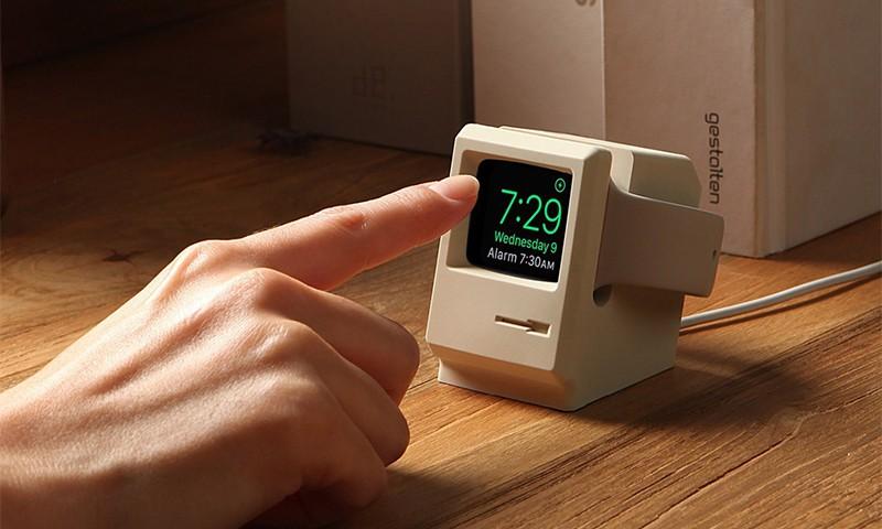 Elago 这款 Apple Watch 充电底座的灵感来自于 Macintosh