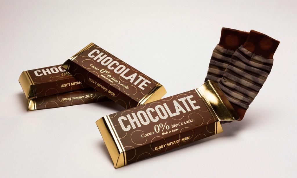 "ISSEY MIYAKE MEN 为你准备了特别的情人节""巧克力"""