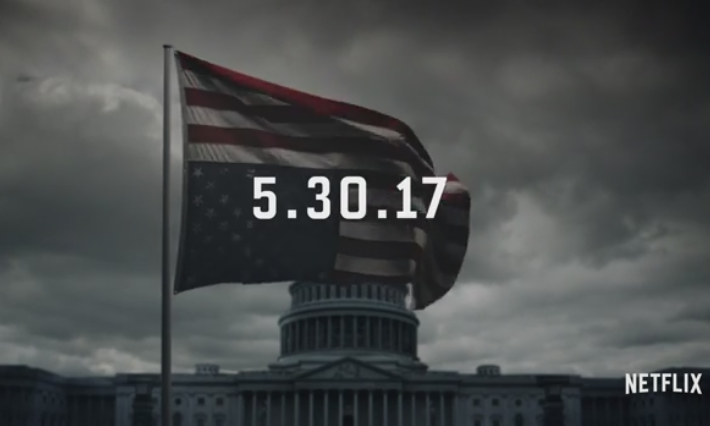 《纸牌屋》第五季先导预告以及首播日期公布