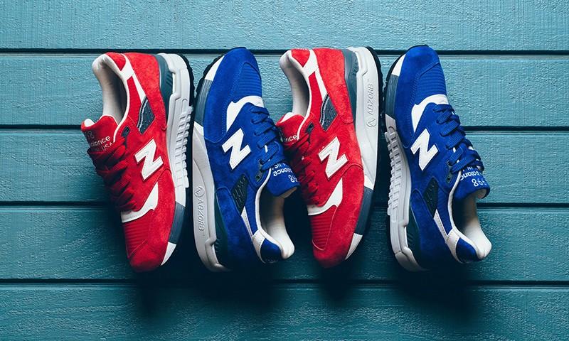 红蓝色调加持,New Balance 为 998 鞋型打造新款配色