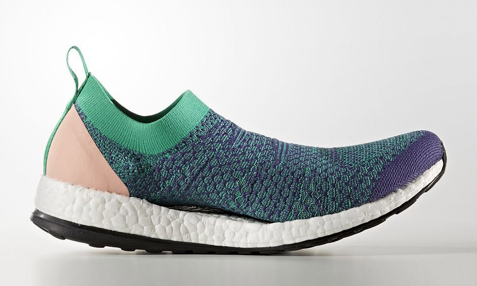 更纯粹的袜套式设计,adidas by Stella McCartney 新款 Pure Boost X 现已发售