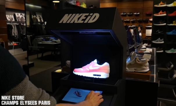NIKEiD 已经开始使用 AR 技术来定制球鞋了?