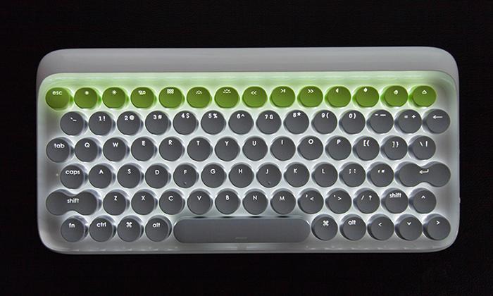 Lofree 无线机械键盘轻巧亮相