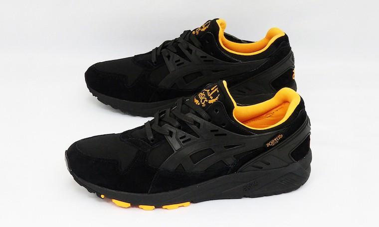 "ASICS Tiger x PORTER 打造 ""THAT BLACK NYLON"" 主题鞋款"