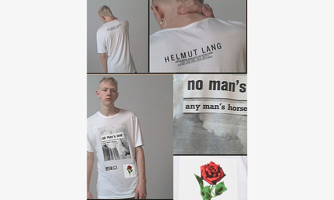 Travis Scott x Helmut Lang 全系列单品一览