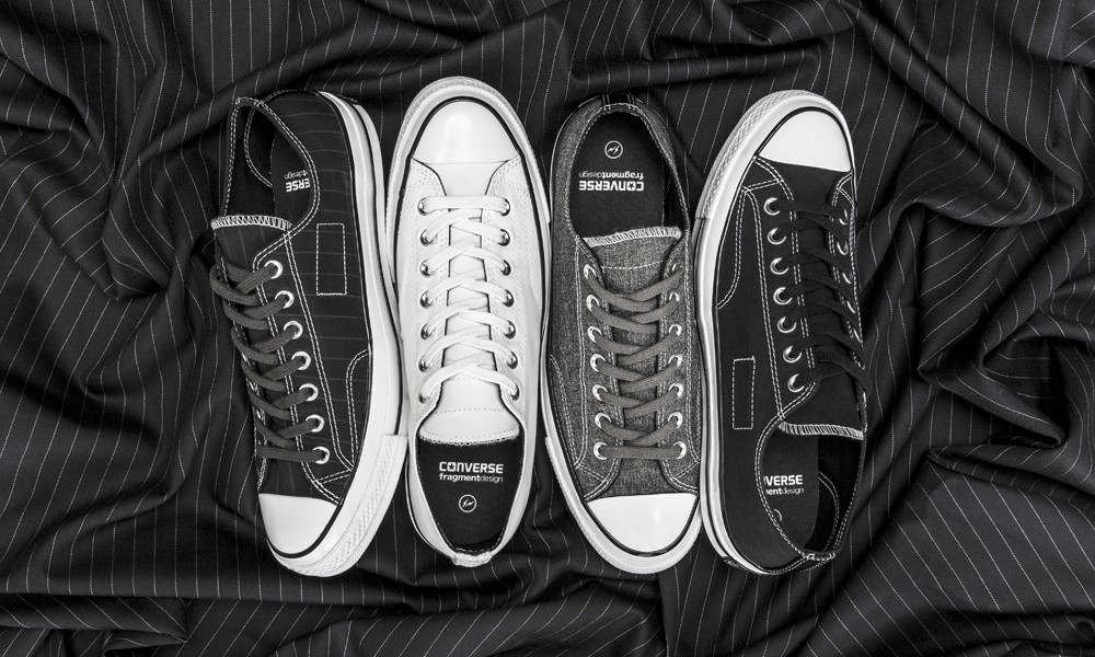 "fragment design x Converse Chuck Taylor All Star '70 合作带来一款 ""正装球鞋"""