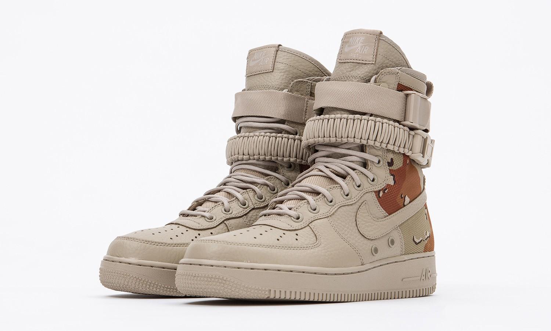 """沙漠迷彩上身后,这双 Nike SF-AF1 新配色才更 """"军靴"""""""