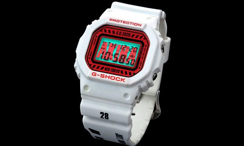 《阿基拉》 x G-SHOCK NEO TOKYO 联名腕表再度发售