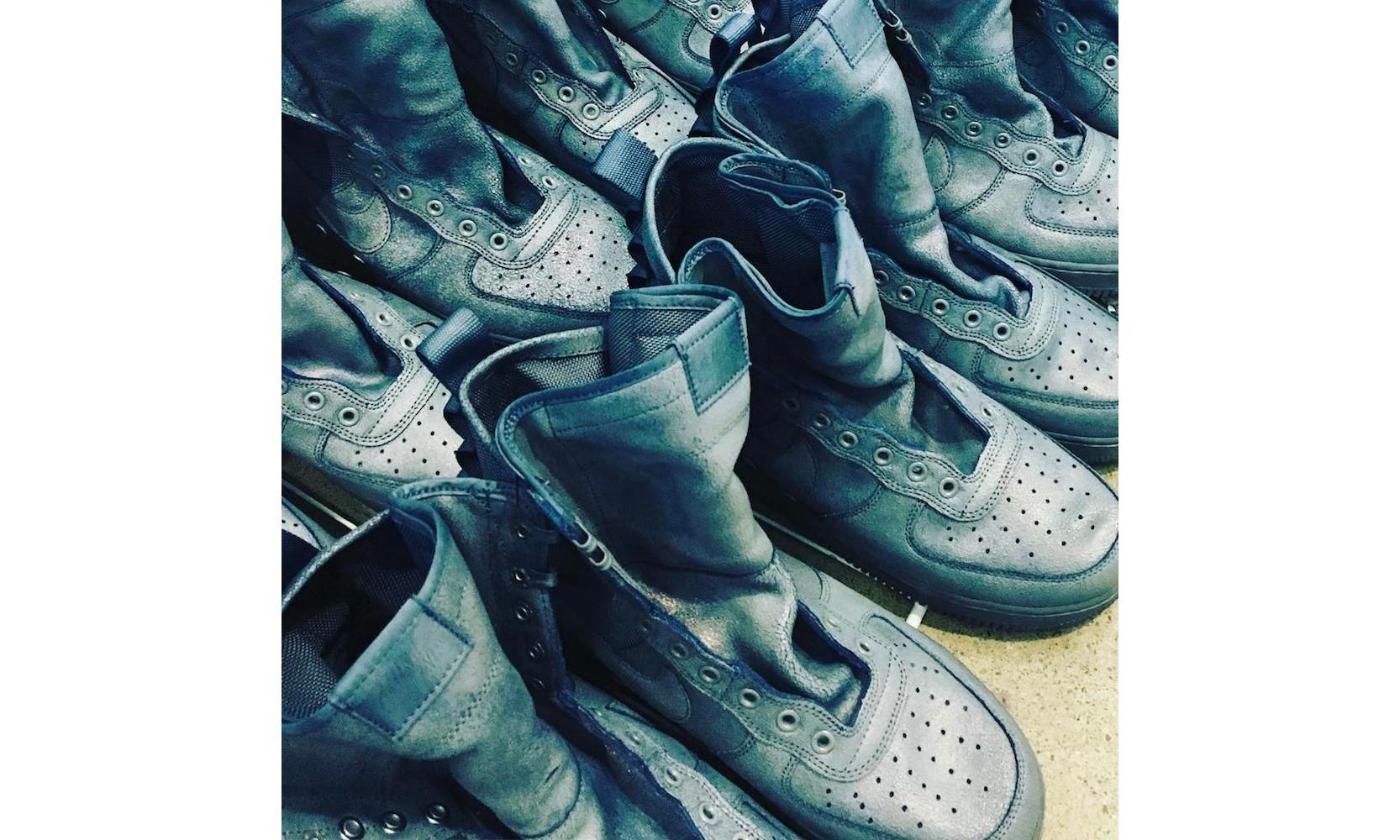 全明星周末福利,Don C 将免费赠予鞋迷蓝染 Nike SF-AF1