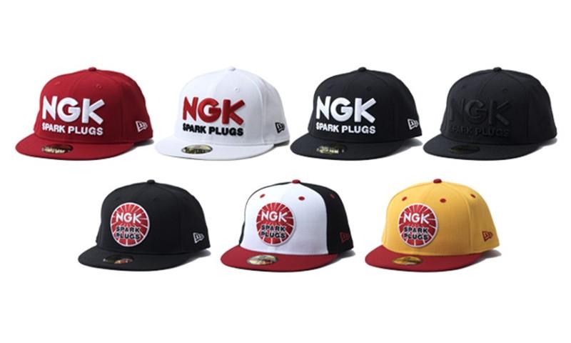 New Era 联手 NGK SPARK PLUGS 打造联乘帽款