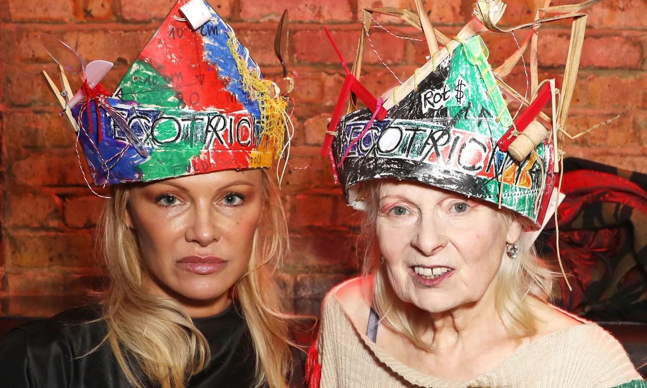 Vivienne Westwood x Fabric 呼吁使用清洁能源