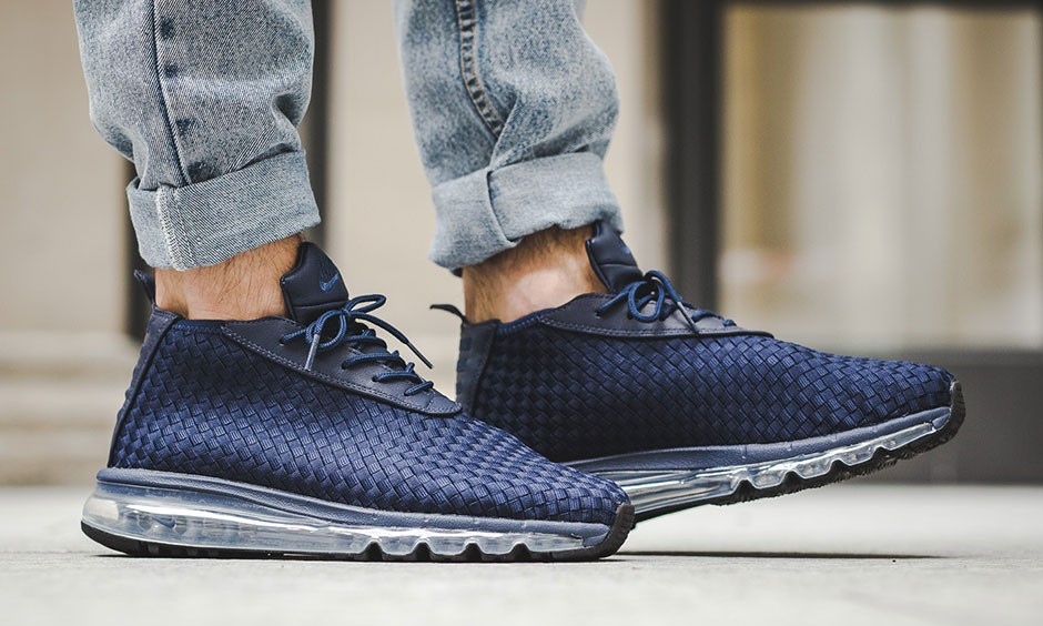 全掌气垫与编织鞋面的完美结合,Nike 推出全新鞋款 Air Max Woven Boot