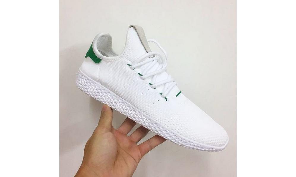抢先预览 adidas Originals x Pharrell Williams  HU 系列新鞋款